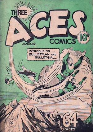 Three Aces Comics v1 #12