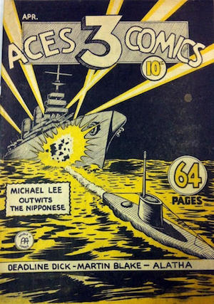 Three Aces Comics v1 #4