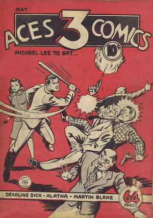 Three Aces Comics v1 #5