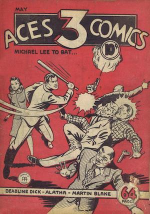 Three Aces Comics v1 #5