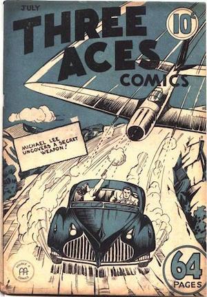 Three Aces Comics v1 #6