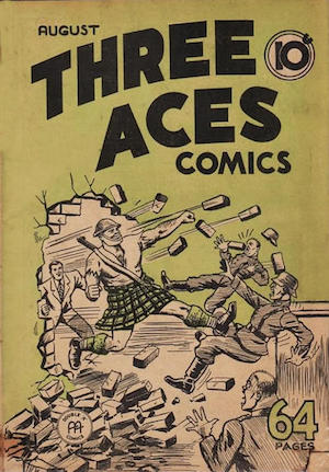 Three Aces Comics v1 #7