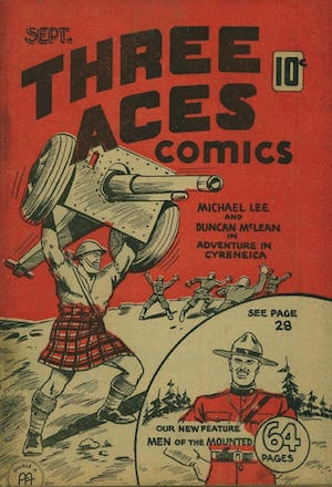 Three Aces Comics v1 #8