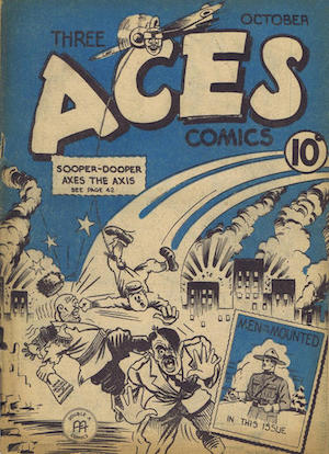 Three Aces Comics v1 #9