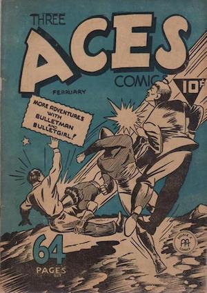 Canadian Whites: Three Aces Comics v2 #1