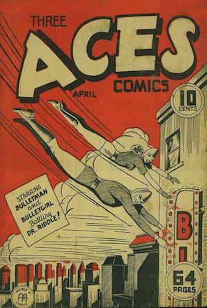 Three Aces Comics v2 #3