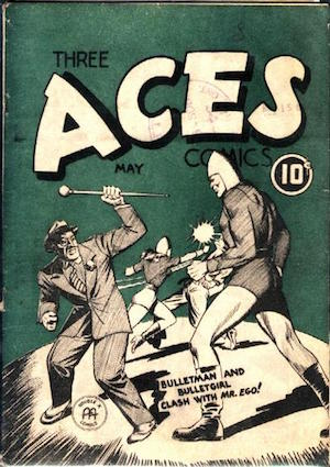 Three Aces Comics v2 #4