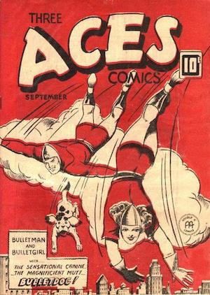 Three Aces Comics v2 #8