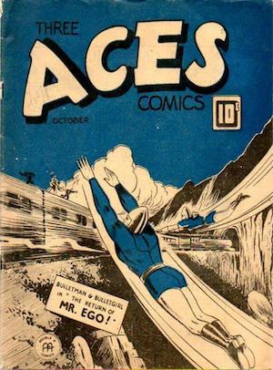 Three Aces Comics v2 #9