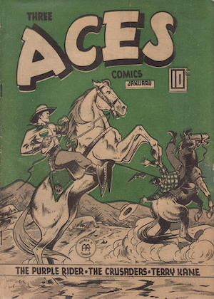 Three Aces Comics v3 #12