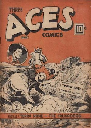 Three Aces Comics v3 #5