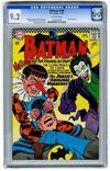 Batman Comic #186 Value