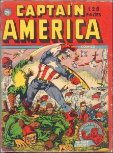 Captain America: #4 most popular of Marvel Comics characters