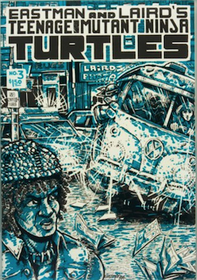 Teenage Mutant Ninja Turtles #3 (1985): Laird's Photo Comic Con Variant. Click for value