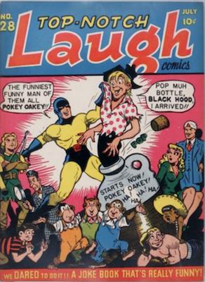 Top-Notch Comics #28: 1st Suzie. Click for value