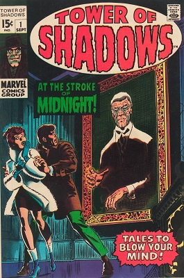 Tower of Shadows #1 (1969): 1st issue of classic Marvel horror comic books series. Click for value