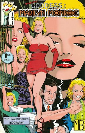 Tragic Goddess Marilyn Monroe #1 by POP Comics. Click for values