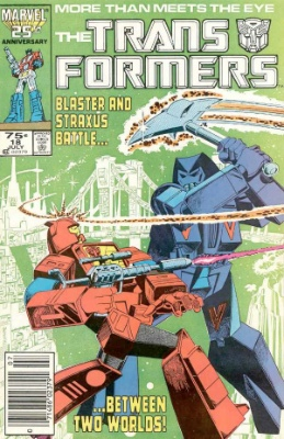 Click to see the value of Transformers Comics #18