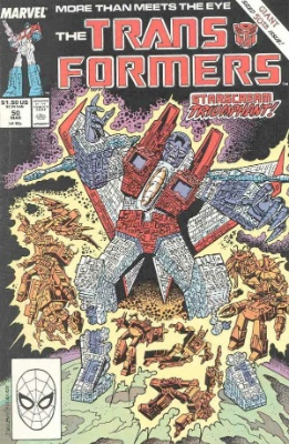 Click to see the value of Transformers Comics #50
