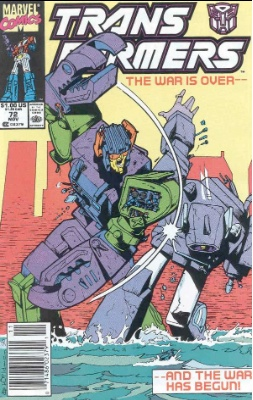 Click to see the value of Transformers Comics #72
