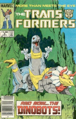 Click to see the value of Transformers Comics #8
