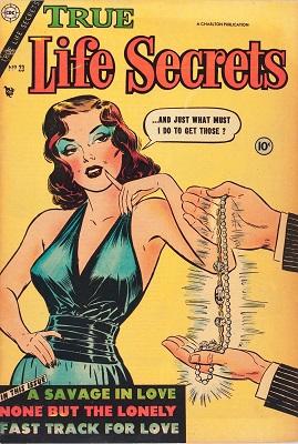 True Life Secrets #23: Super rare! Click for value