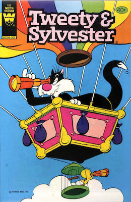 Tweety & Sylvester #105. Click for current values.