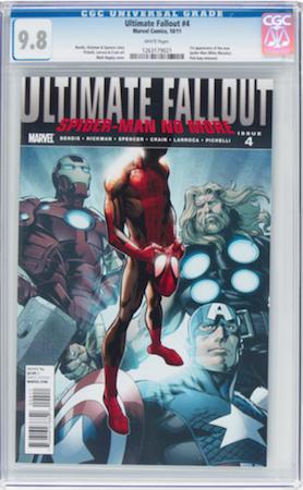 100 Hot Comics #21: Ultimate Fallout 4, 1st Miles Morales. Click to buy a copy