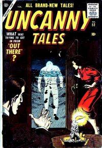 Uncanny Tales #52: early Iron Man prototype