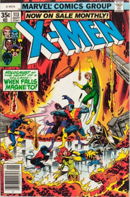 (Uncanny) X-Men #113, Magneto Story. Click for values