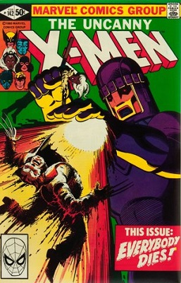 The two comic books which told the original Days of Future Past story, Uncanny X-Men #141 and #142, have both increased in value, but have begun to drop off