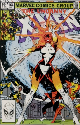 Uncanny X-Men #164: 1st Carol Danvers as Binary. Click for values