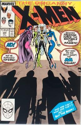 Uncanny X-Men #244: 1st Jubilee. Click for values