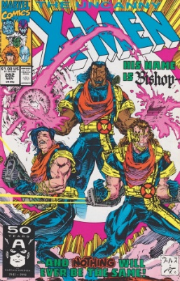 Uncanny X-Men #282: First appearance of Bishop. Click for values