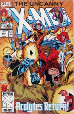 Origin and First Appearance, Kleinstocks, Uncanny X-Men #298, Marvel Comics, 1993. Click for value