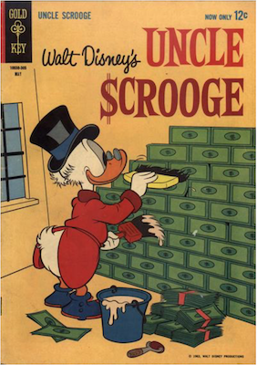 Uncle Scrooge #42. Click for values.