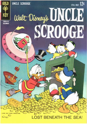 Uncle Scrooge #46. Click for values.
