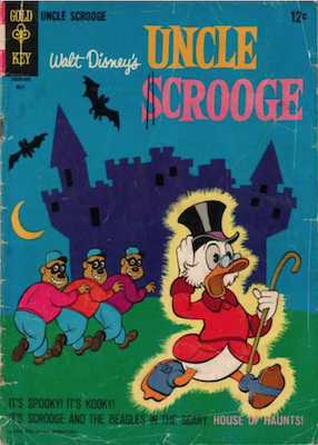 Uncle Scrooge #63. Click for values.