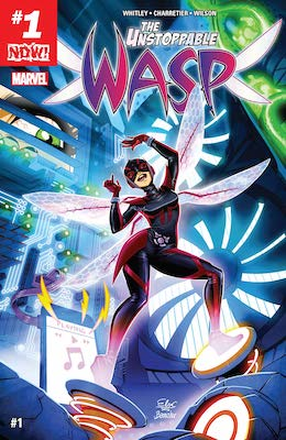 Unstoppable Wasp Marvel Comics #1: Solo series from 2017. There are many variants of this issue. Click for values