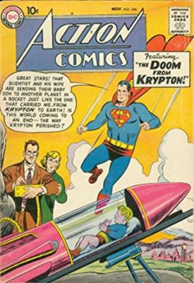 Value of Action Comics #246?