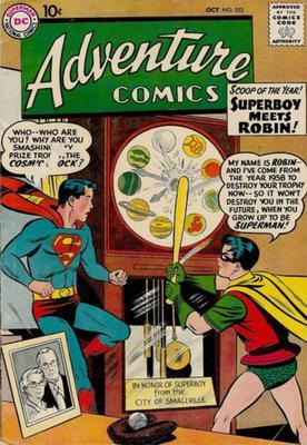 Value of Adventure Comics #253?