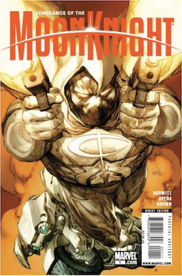 Vengeance of the Moon Knight #1 (2009). Click for values.