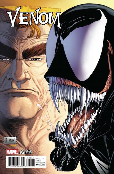 #35: Venom 6 McFarlane Variant (2017). Click for values