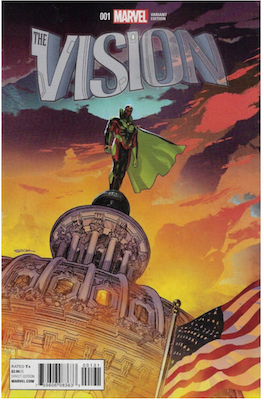 Vision #1 (2016): Sook variant edition. Click for values.