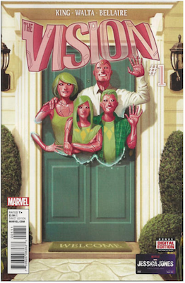 Vision #1 (2016). Regular edition. Click for values.