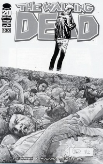 Walking Dead 100 Adlard Cover variant