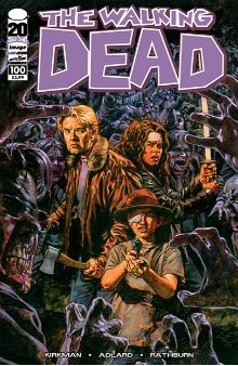 Walking Dead 100 Phillips variant