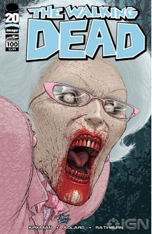 Walking Dead 100 Quitely variant