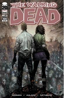 Walking Dead 100 Silvestri variant