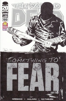 Walking Dead 100 sketch variant